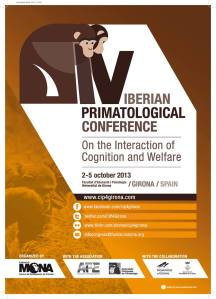 pòster congrés primatologia