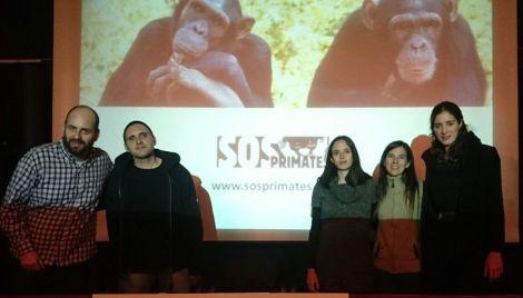 equip SOS Primates i Jordi Galbany