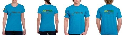 """Camisetas participantes en el Evento Anual de la ASZK """"Bowling 2017"""""""